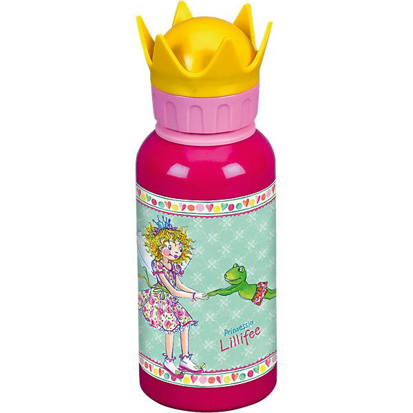 Alu-Trinkflasche Mit Kronendeckel Prinz. Lillifee (0,4 L