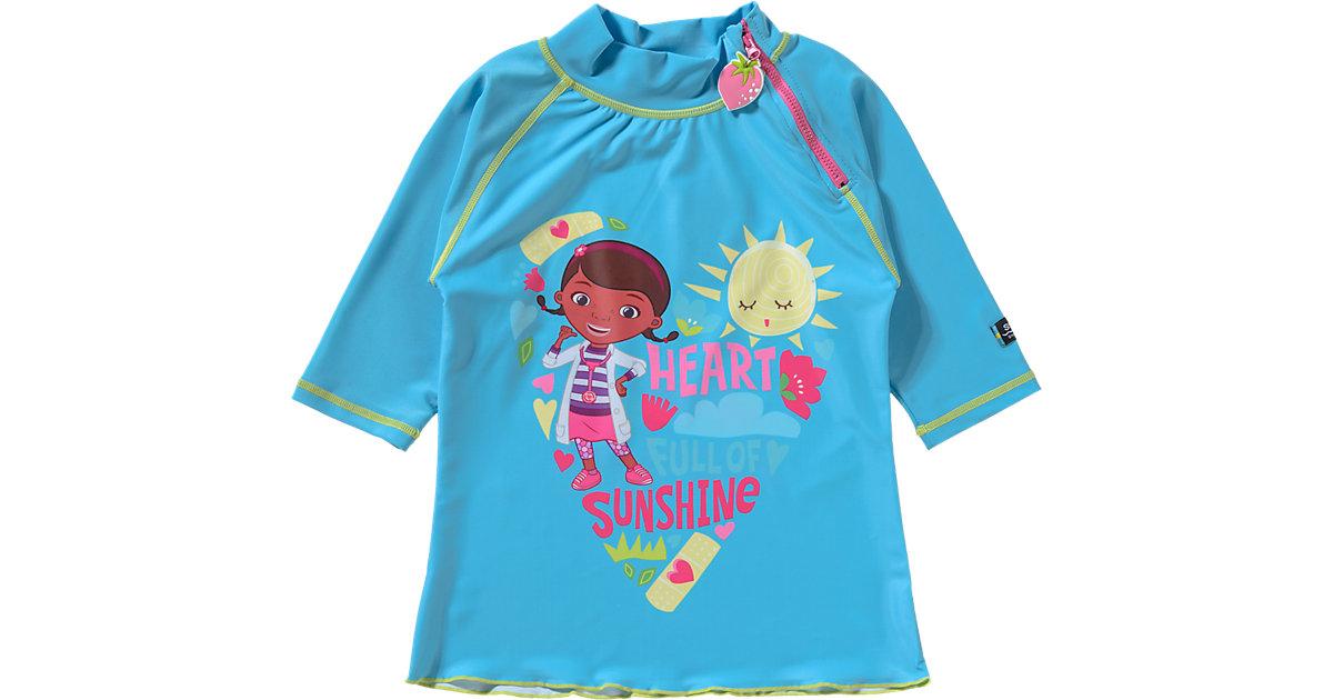 Swimpy · Kinder Schwimmshirt Doc McStuffins mit UV-Schutz Gr. 98/104
