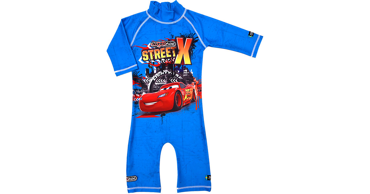 Swimpy · SWIMPY Baby Cars Badeanzug mit UV-Schutz Gr. 98/104 Jungen Kleinkinder