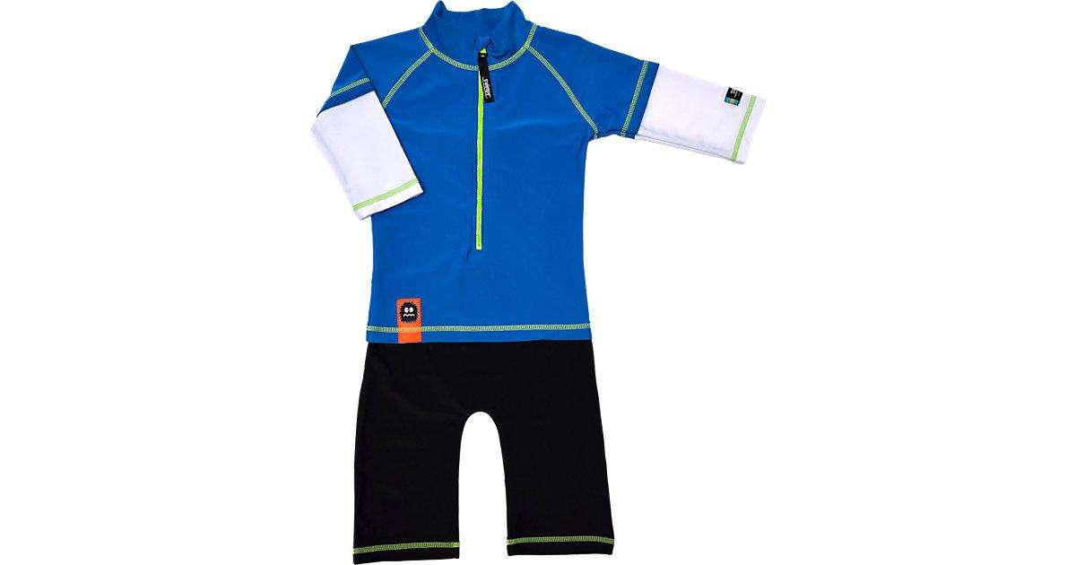 Baby Schwimmanzug mit UV-Schutz blau Gr. 98/104 Jungen Kleinkinder