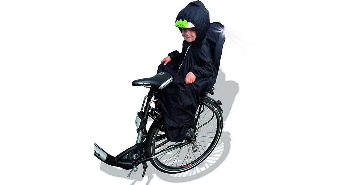 Fahrradsitzabdeckung 2in1 schwarz