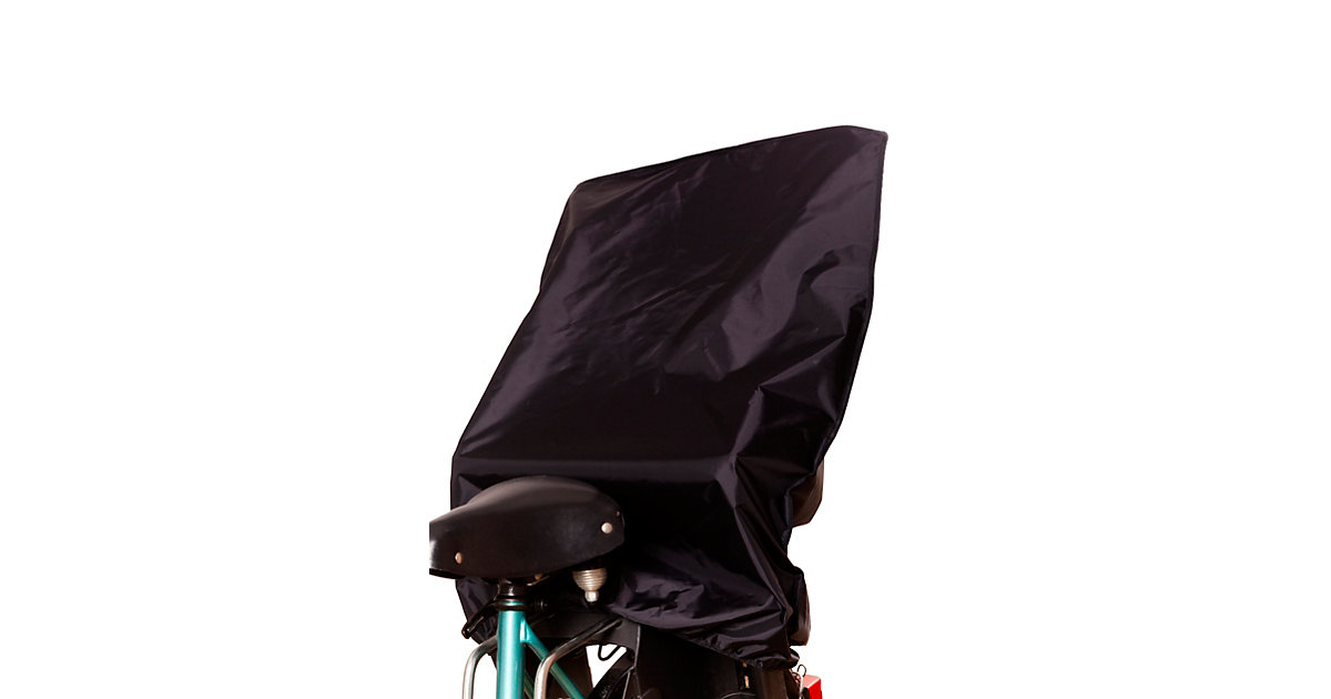 Fahrradsitzabdeckung, Nylon schwarz