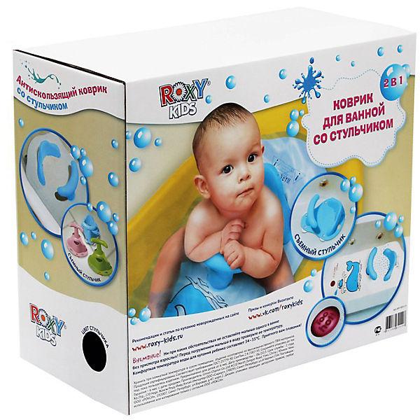 Коврик для ванной со съемным стульчиком ROXY-KIDS, Китенок