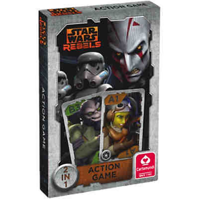 Star Wars Rebels - Quartett & Action Game