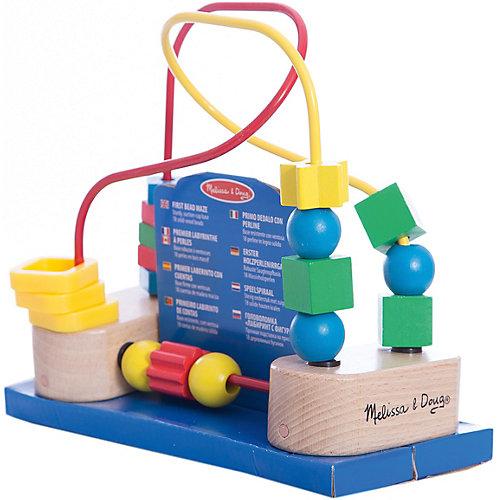 """Развивающая игрушка """"Лабиринт с фигурами"""", Melissa & Doug от Melissa & Doug"""