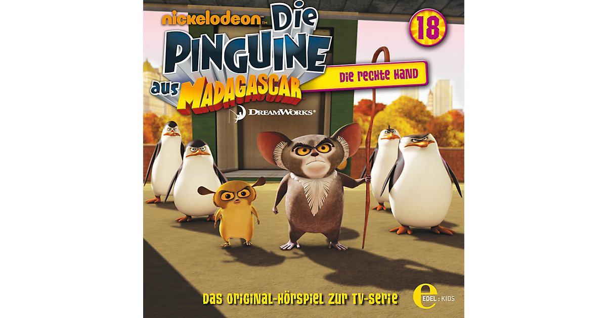 CD Die Pinguine aus Madagascar 18