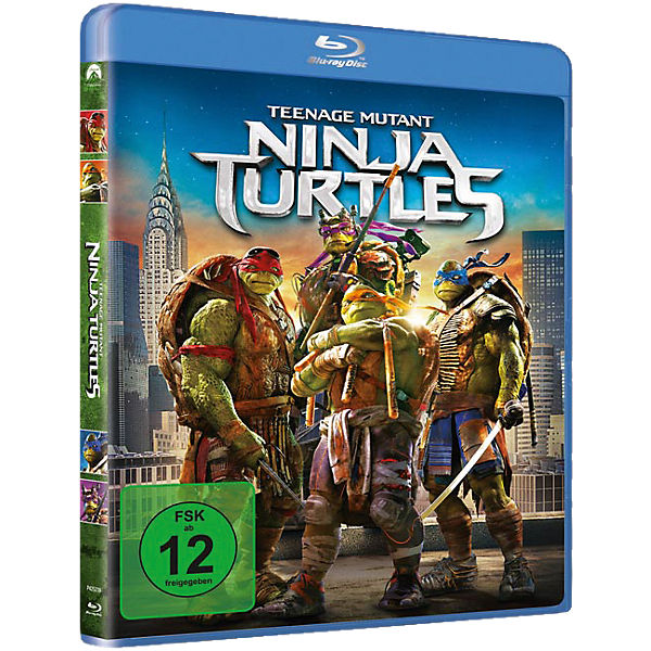 BLU-RAY Teenage Mutant Ninja Turtles