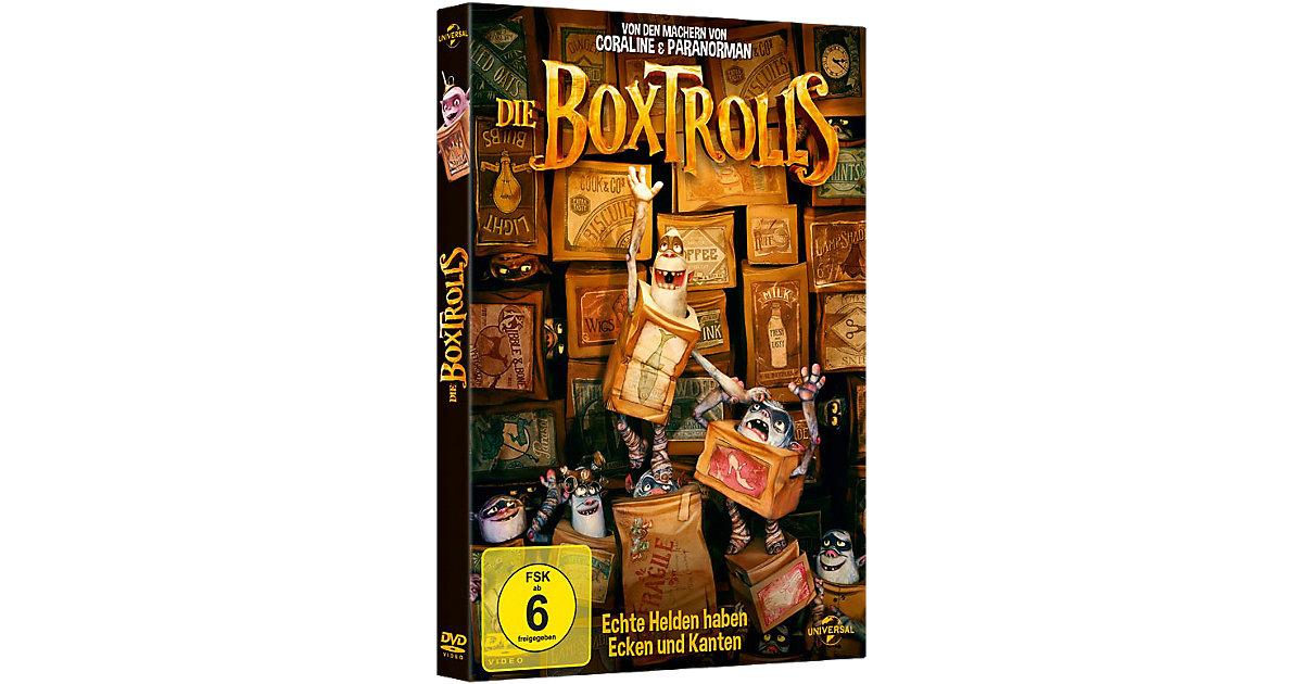 DVD Die Boxtrolls