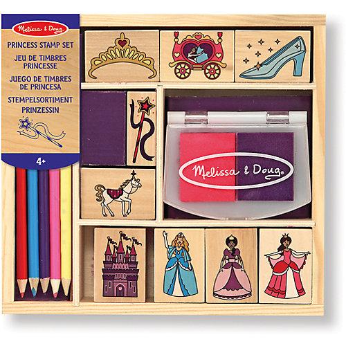 """Набор печатей """"Принцессы"""", Melissa & Doug от Melissa & Doug"""