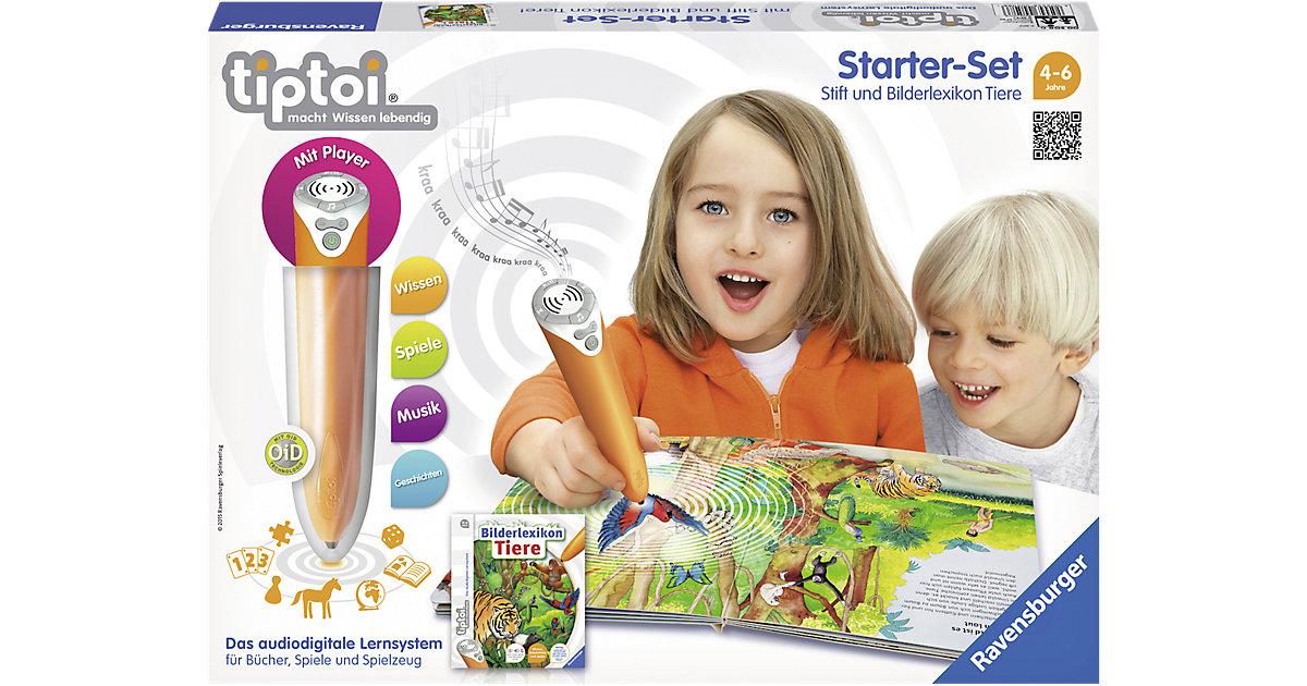 tiptoi® Starterset mit Stift und Buch Bilderlexikon Tiere
