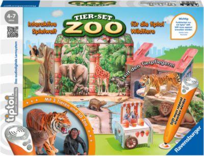 tiptoi® Spielfiguren Tier-Set Zoo