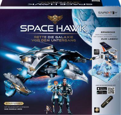 Starter-Set Space Hawk Raumschiff + Episode ´´Das dunkle Herz´´