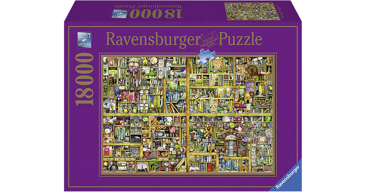Ravensburger · Colin Thompson: Magisches Bücherregal XXL 18000 Teile