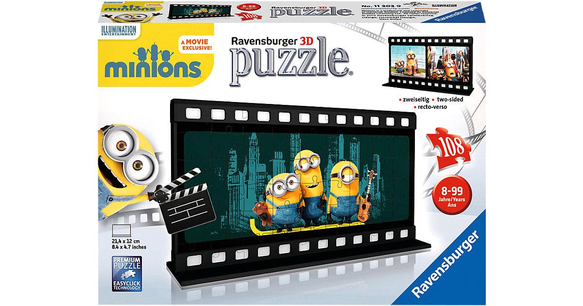 Filmstreifen Minions 3D Puzzle 108 Teile