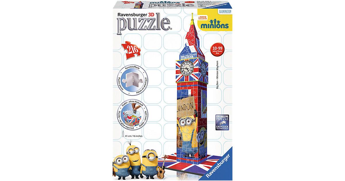 3D Gebäude Puzzle Big Ben Minions Edition 216 T...