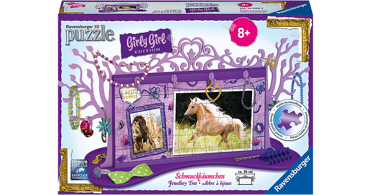 3D-Puzzle Girly Girl Edition Schmuckbäumchen Pf...