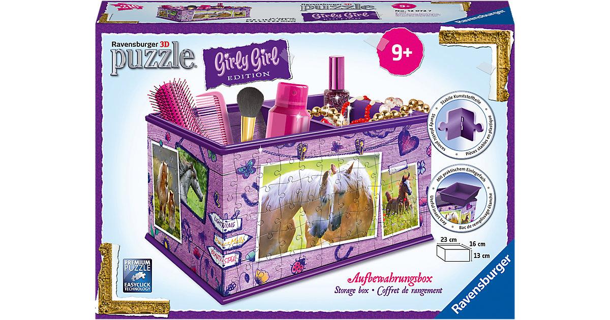 Girly Girl Edition Aufbewahrungsbox Pferde
