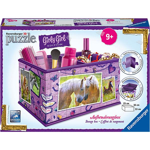 Girly Girl Edition Aufbewahrungsbox Pferde, Ravensburger