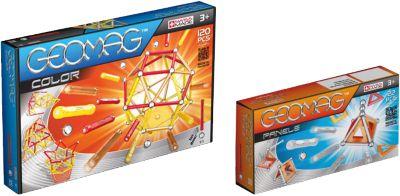 Geomag Bundle Color 120tlg & Panels 22tlg