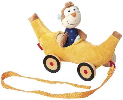 41086 PlayQ Bananenmobil mit Affe