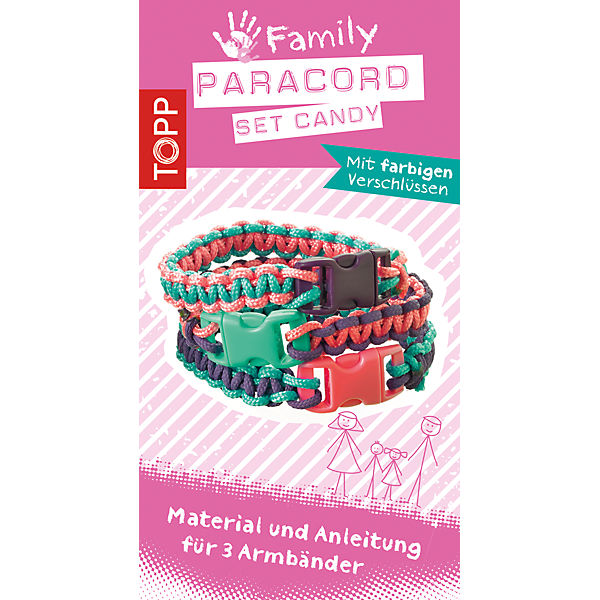 Kreativset Paracord Family Set CANDY