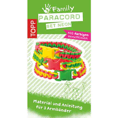 Kreativset Paracord Family Set NEON