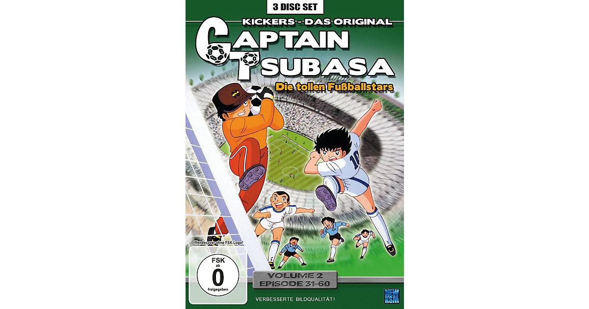 DVD Captain Tsubasa - Die tollen Fußballstars 0...