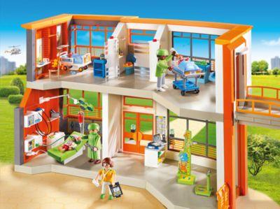 Playmobil 9453 Große Schule Mit Einrichtung Playmobil City Life