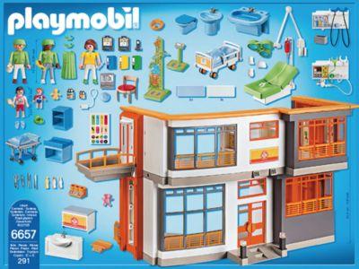 Playmobil 6657 Kinderklinik mit Einrichtung | New Style