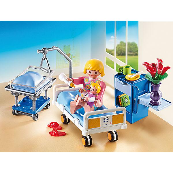 Playmobil 6660 Krankenzimmer Mit Babybett Playmobil City Life Mytoys