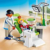 Детская клиника: Дантист с пациентом, PLAYMOBIL