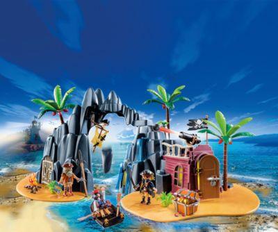 PLAYMOBIL® 6679 Piraten-Schatzinsel