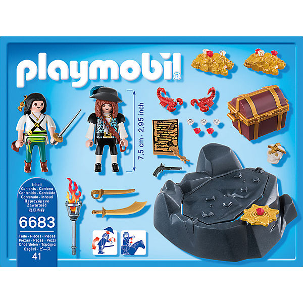 Пиратский тайник с сокровищами, PLAYMOBIL