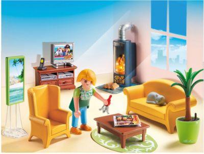 PLAYMOBIL® 5308 Wohnzimmer Mit Kaminofen PLAYMOBIL® 5308 Wohnzimmer Mit  Kaminofen 2