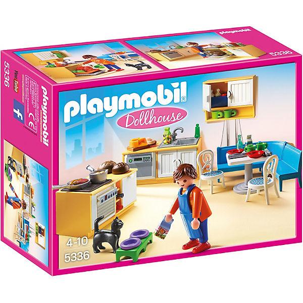 Playmobil 5336 einbauk che mit sitzecke playmobil city life mytoys - Playmobil haus schlafzimmer ...