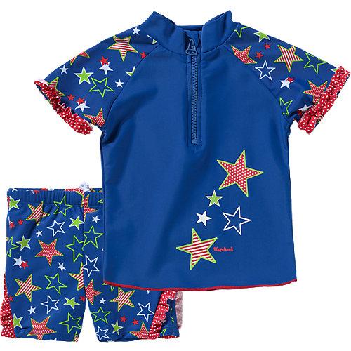 Playshoes 2-teiliger Kinder Schwimmanzug mit UV Schutz Gr. 86/92 Mädchen Kleinkinder   04010952384444