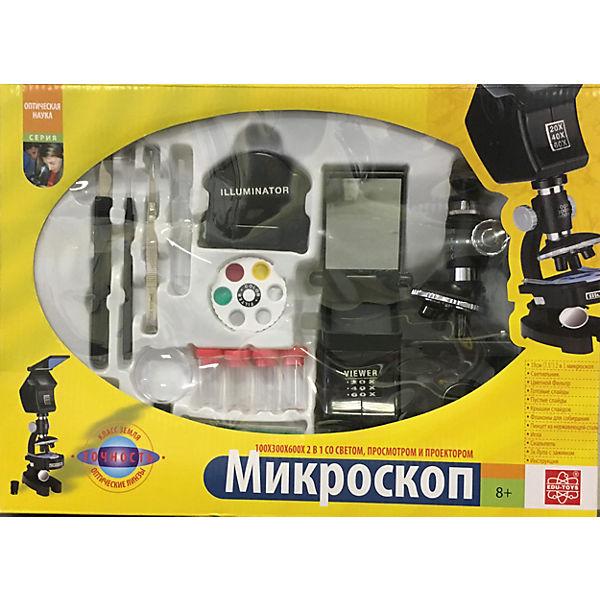 Микроскоп 100х300х600х, Edu-Toys