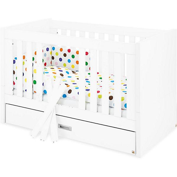 Kinderbett weiß 70x140  Kinderbett ENZO, 70 x 140 cm, weiß, Pinolino | myToys