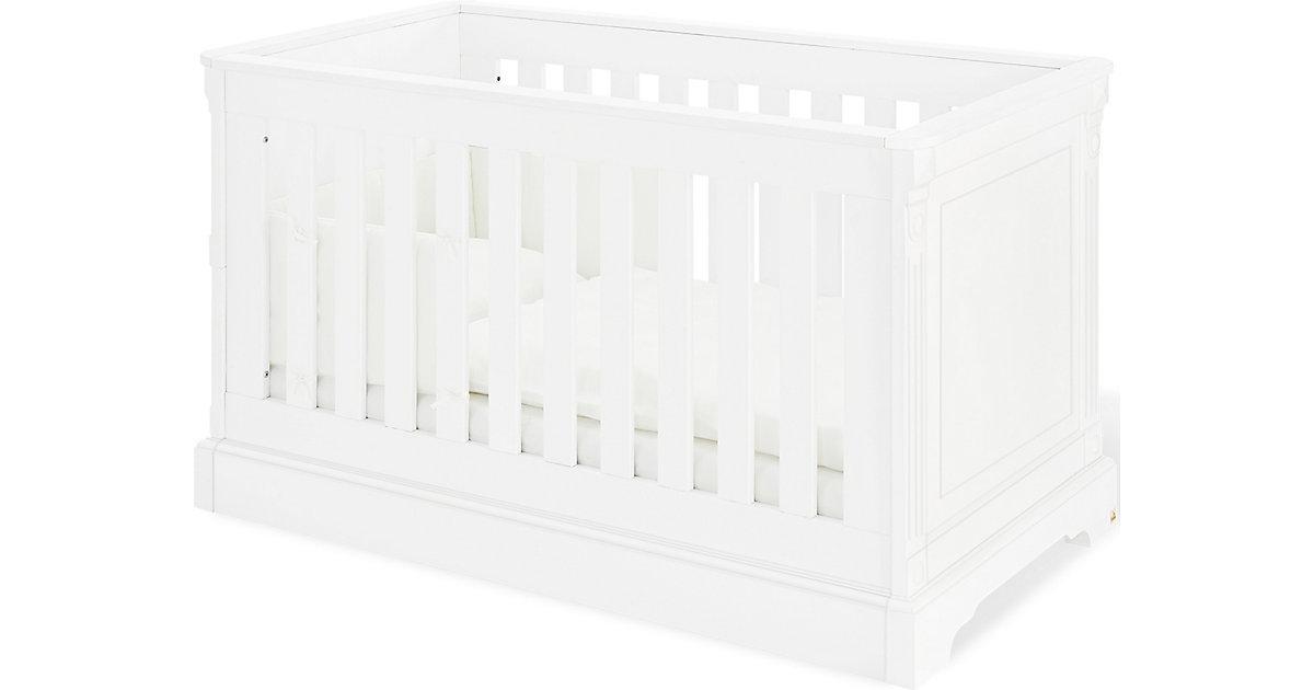 Kinderbett EMILIA, 70 x 140 cm, MDF weiß