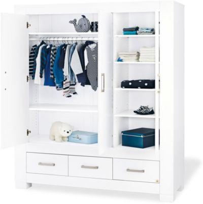 Kinderzimmerschrank weiß  Kinderschrank - Kleiderschränke für Kinder online kaufen | myToys