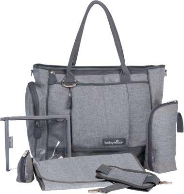 Wickeltasche Essential Bag, grau meliert, Babymoov