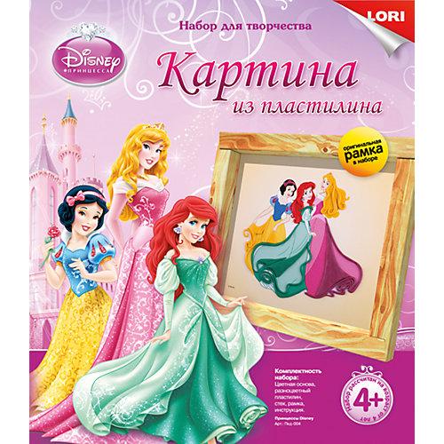"Картина из пластилина ""Принцессы Disney"", LORI от LORI"