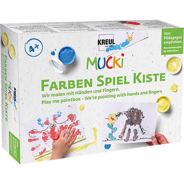 Mucki Kreativset Wir malen mit Händen und Fingern, MUCKI | myToys