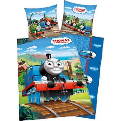 Wende Kinderbettwäsche Thomas Und Seine Freunde Renforcé135 X 200