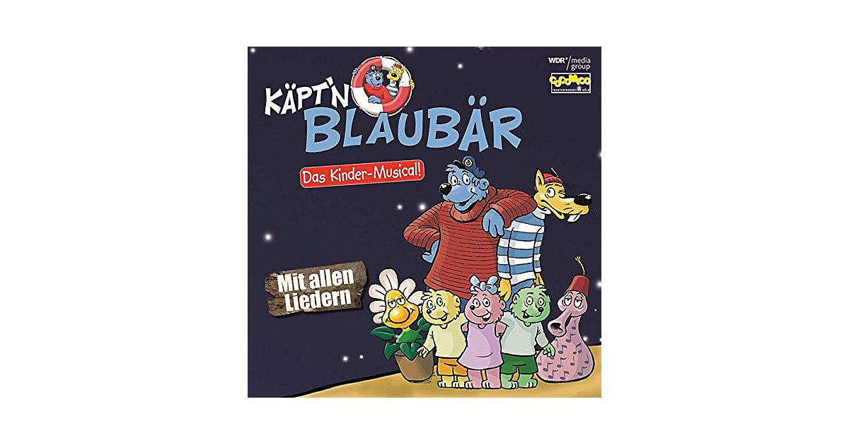 CD Käptïn Blaubär - Das Kinder-Musical