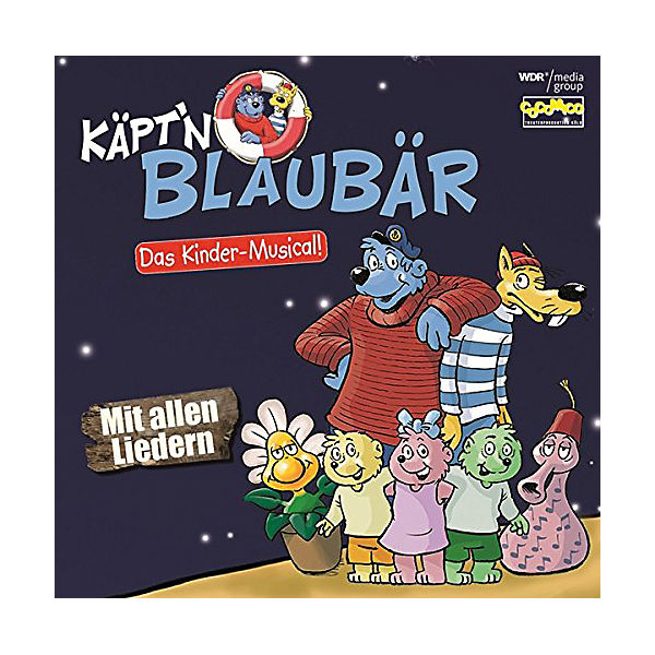 CD Käptïn Blaubär - Das Kinder-Musical