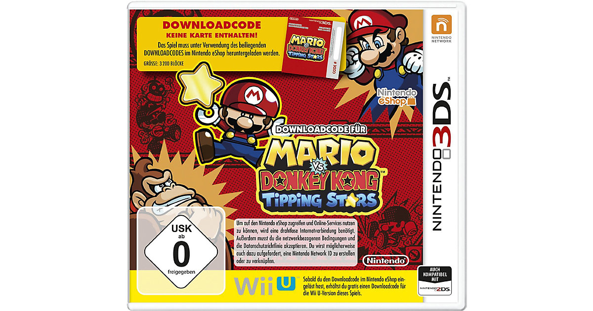 3DS Mario vs. Donkey Kong: Tipping Stars (Downl...