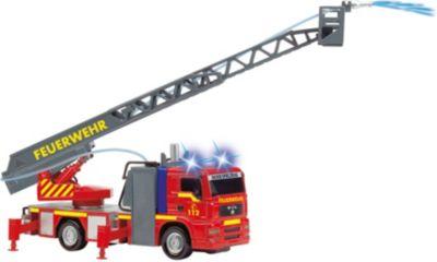 rechts auf Mega Crane Dickie Spielzeug 203462412 links Kabel-Fernsteuerung