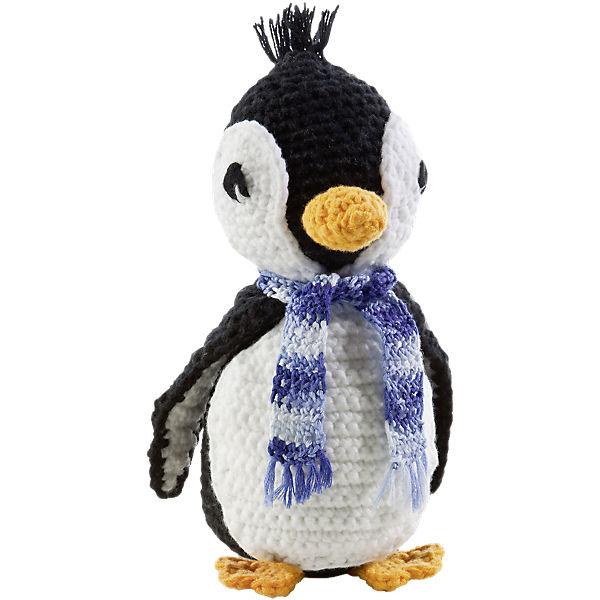 Häkelset Kuscheltier Pinguin Folia Mytoys
