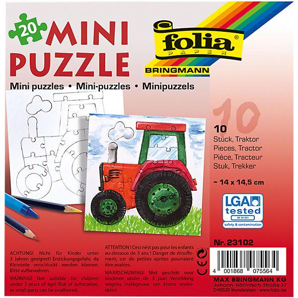 Partypack Motiv Puzzle Traktor 10 X 20 Teile Folia Mytoys